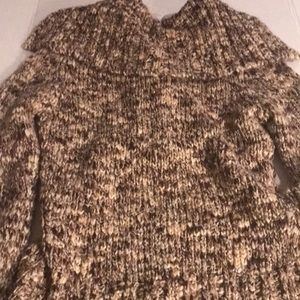 BKE Sweaters - BKE Tan and Brown Sweater Sz M NWT